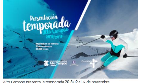 PRESENTACION DE LA TEMPORADA