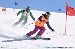 Campeonatos de España de esquí para personas con discapacidad física y visual.