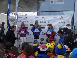 podium damas cantabria U-10